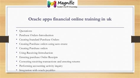 oracle tutorial in mumbai oracle apps financial online training in usa