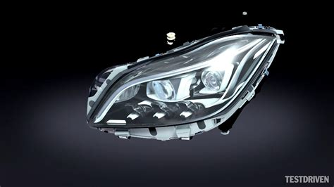 mercedes led headlights mercedes multibeam led headlights