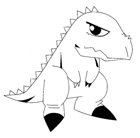 coloring page dinosaur king 12