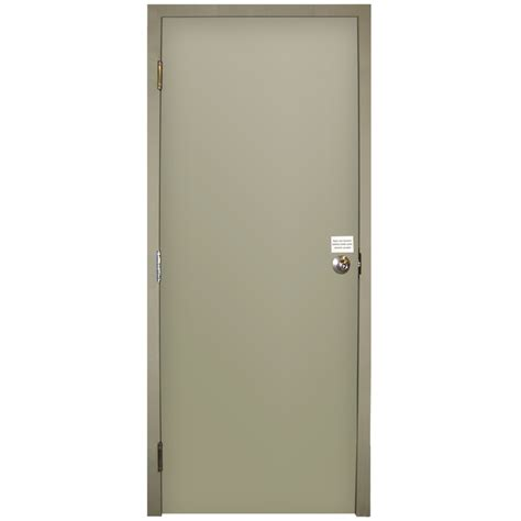 Flush Entry Door by Shop Milliken Flush Prehung Entry Door Common 32 In X 80