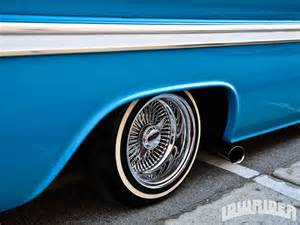 Dayton Wire Wheels On Truck 1963 Chevrolet Truck Lowrider Magazine