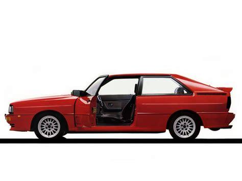 Audi Quattro Voitures spécifications techniques et la consommation de carburant