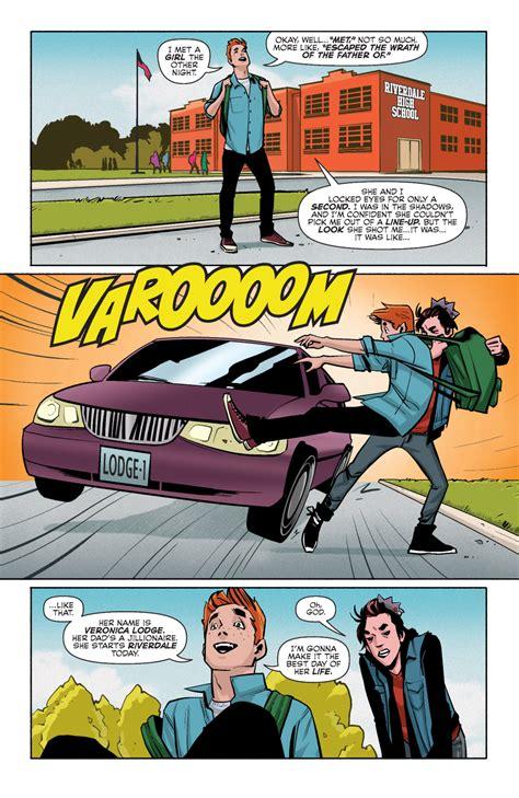 riverdale vol 1 comic book preview archie volume 1 bounding into comics