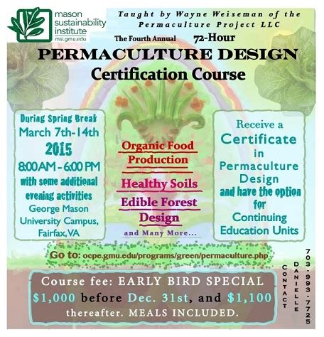 permaculture design certificate course online college of science permaculture design certification