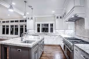 for white cabinets and kitchen with dark backsplash ideas light countertops home design