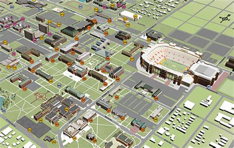 Oklahoma State University Map by College Of Engineering Architecture And Technology