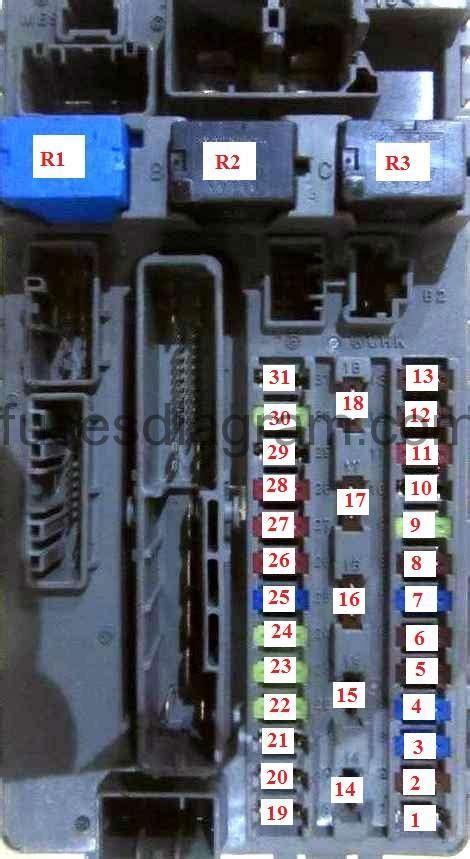 2012 Honda Accord Fuse Diagram
