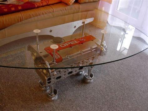 Motor Coffee Table These Engine Block Tables Are Absolutely Awesome