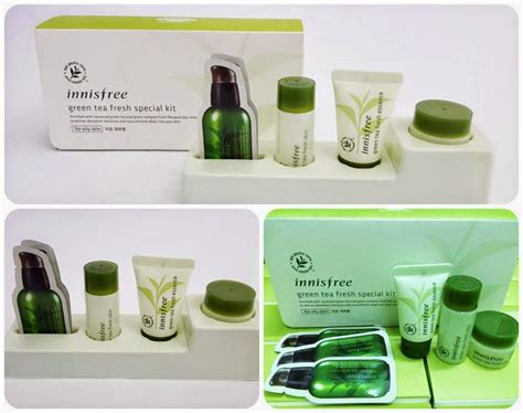 Harga Innisfree Green Tea Fresh Special Kit bộ kit tr 192 xanh innisfree green tea fresh special kit