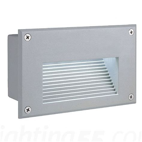 Outdoor Recessed Wall Lights Brick Led Downunder Outdoor Wall Recessed Light By Slv Lighting At Lighting55