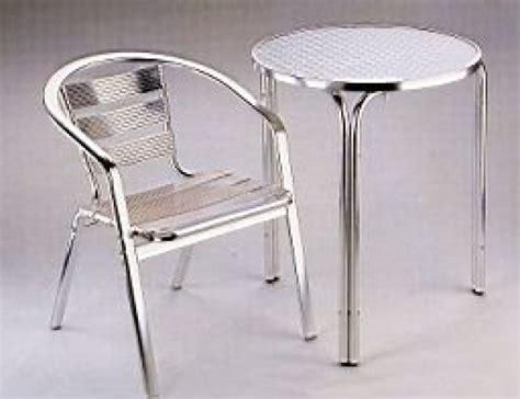 sedie in alluminio per bar tavolo bar basso croppo