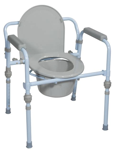 Bedside Toilet Chair by Mobiity Plus Of California Folding Bedside Commode