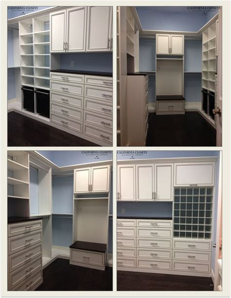 california closets shoe storage gorgeous classic white closet with glazed drawer door