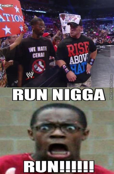 Funny John Cena Memes - niqa i hope u run fast by frenchboy meme center