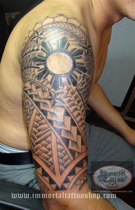 filipino tribal leg tattoo 30 really awesome designs