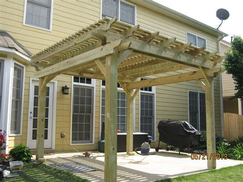 Pergola 12x12 Pressure Treated Pine 2 Yr Warranty Pressure Treated Pergola