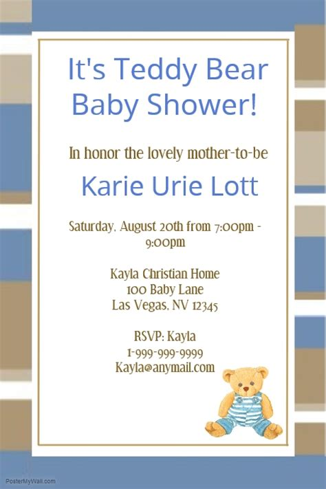 baby shower flyer template baby shower template postermywall