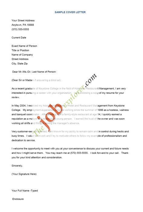cover letter samples for free download