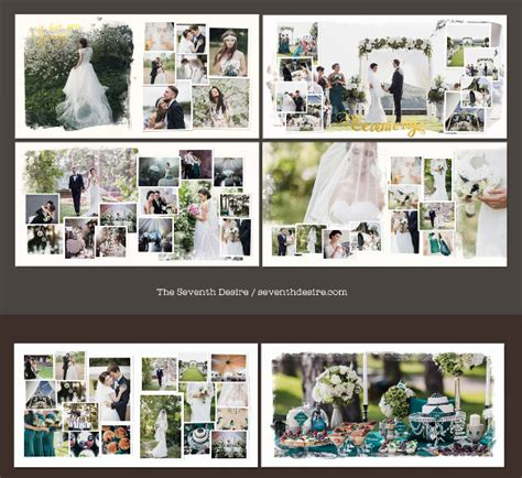 Wedding Album Layout Size by Wedding Album Design Template 57 Free Psd Indesign