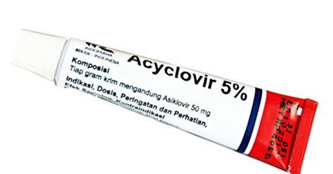 Salep Acyclovir Untuk Herpes khasiat komposisi dan cara kerja acyclovir krim obat