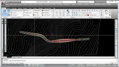 how to prepare for ac section autocad civil 3d creating cross sections youtube