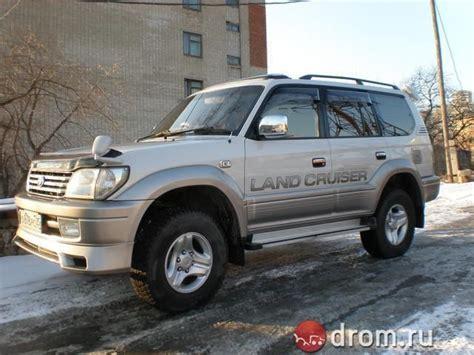 2001 Toyota Land Cruiser 2001 Toyota Land Cruiser Prado Photos