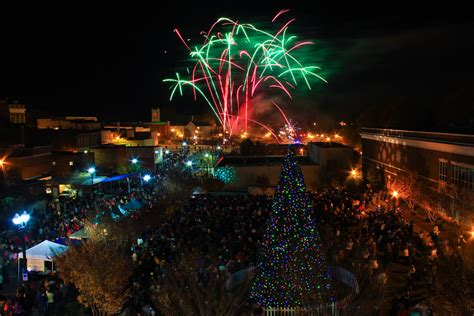 christmas tree lighting and fireworks gt city of concord