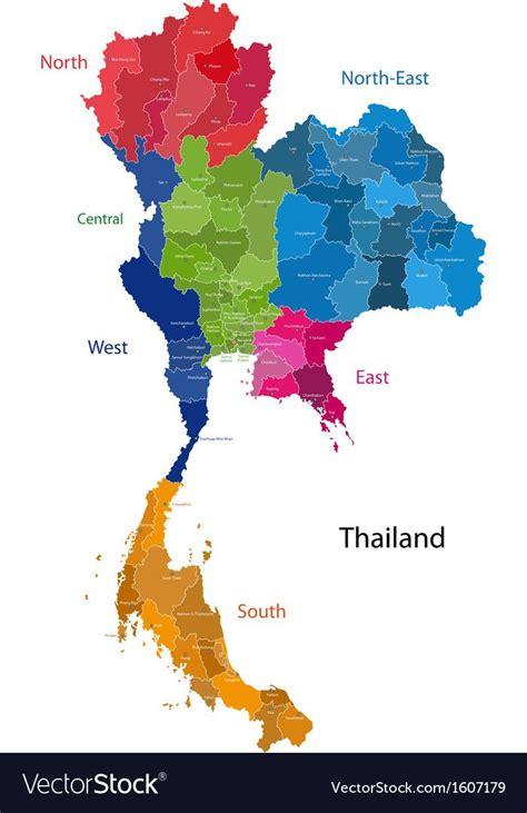 pin  paphat auppakar  paphat map vector thailand map
