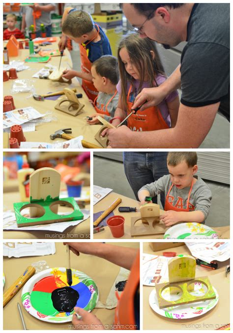 diy for at the home depot workshop digin