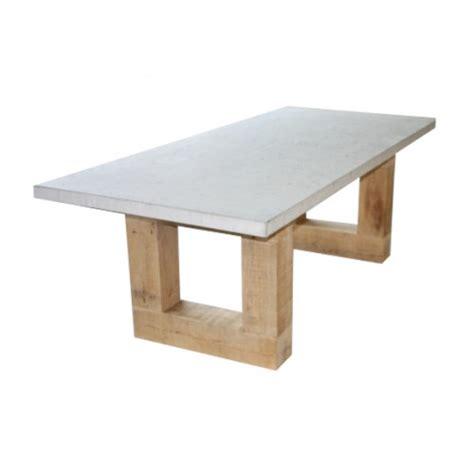 eiken tafelblad nijmegen beton tafel eiken design betonnen tuintafel