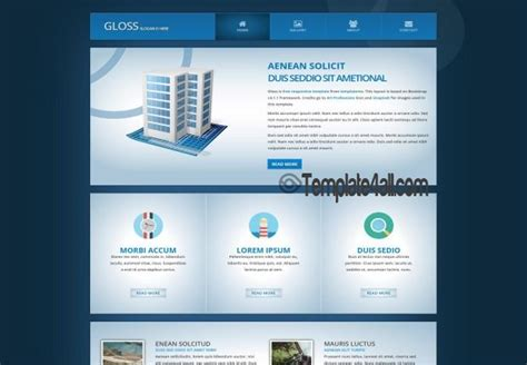 Free Html Website Templates Html5 Template Free