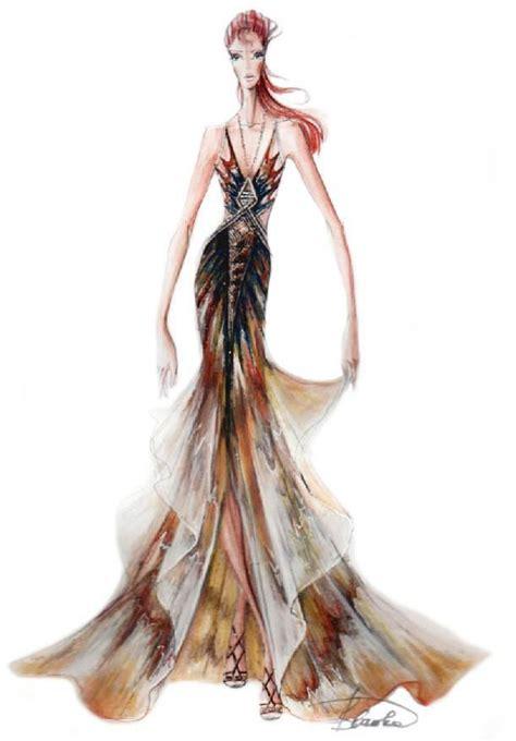 fashion illustration nature 93 best blanka matragi images on
