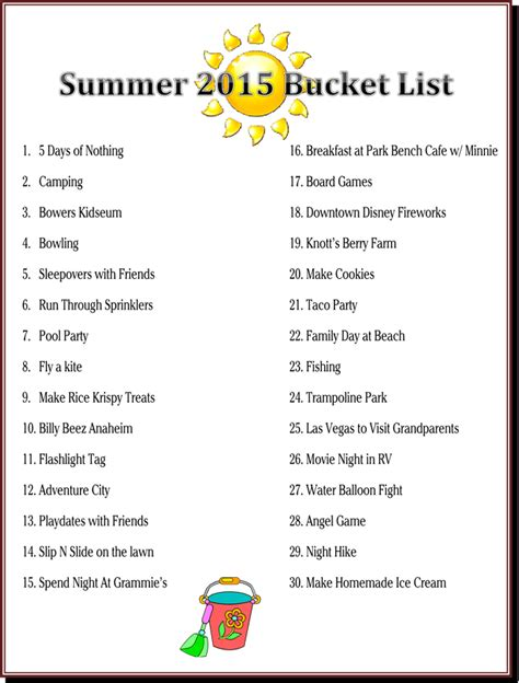 Oprahs Favorite Summer Things 3 by 30 Summer List Things To Do With The Family