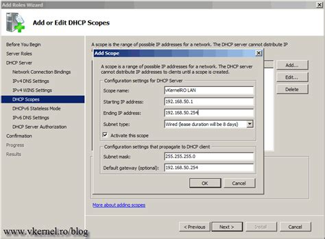 how to install and configure dhcp server in ubuntu server how to install and configure a windows server 2008 r2 dhcp