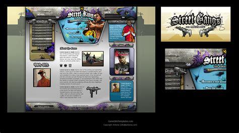 game design websites free gangsta game web design by karsten on deviantart