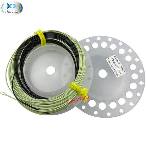 sink tip fly line sink tip fly fishing line 100ft wf5 6 7 f s weight forward