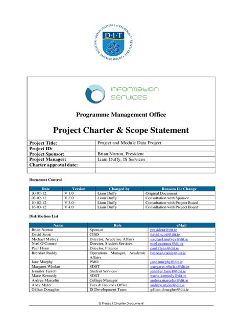 project scope template   templates   word
