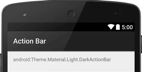 android themes with action bar estilizar la action bar a 241 adir la action bar