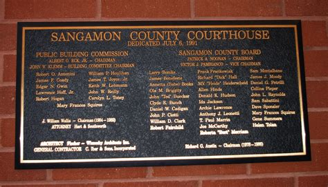 Sangamon County Illinois Court Records Sangamon County Us Courthouses