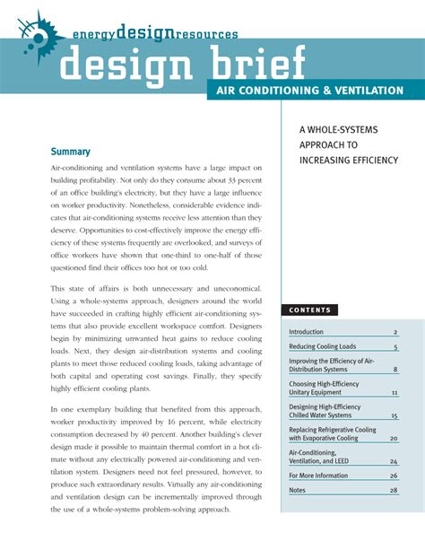 design brief of a house energy design resources design briefs page