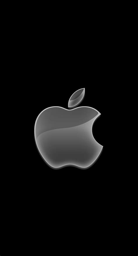 apple logo black cool wallpapersc iphoneplus