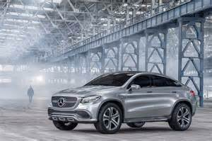 Mercedes Crossover Suv Mercedes Concept Coupe Suv Points To A Larger