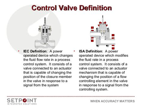 controlling definition control valve types