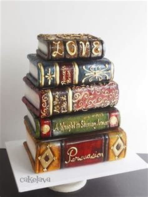 book stacking ideas 1000 images about book cakes on pinterest