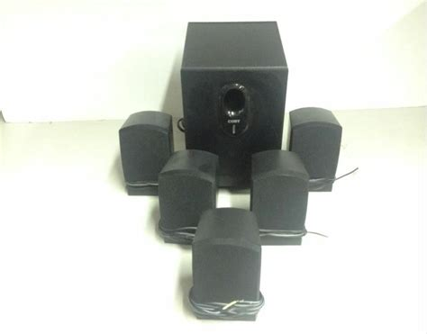 coby  channel home theatre speaker system csp ebay