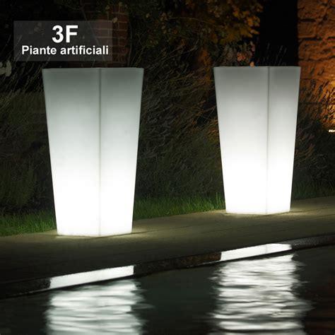 vasi luminosi economici vaso luminoso kiam cm 75 3f piante artificiali