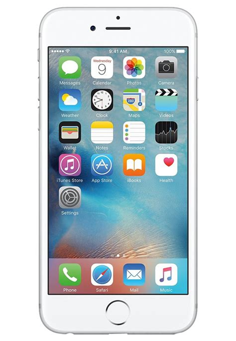 Lte 66 Gb apple iphone 6s 64 gb 4g lte silver with facetime