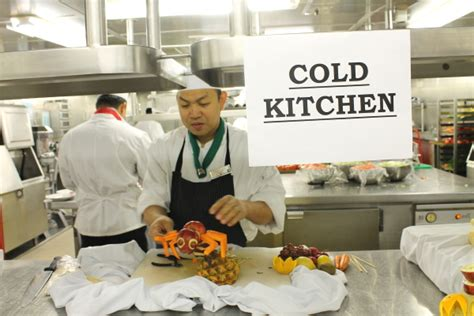 Cold Kitchen by Alaska Cruise Day Two Galleys And The Culinary Cellar