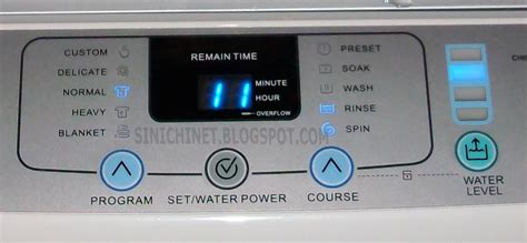 Water Level Mesin Cuci Lg Original wong katrok vs mesin cuci sinichinet