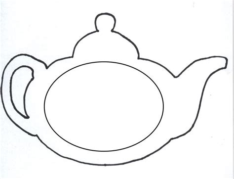 Free Printable Teapot Templates | paper teapot template google search 123 must make
